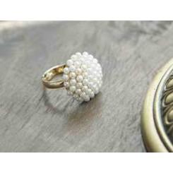 Кольцо с мелким жемчугом